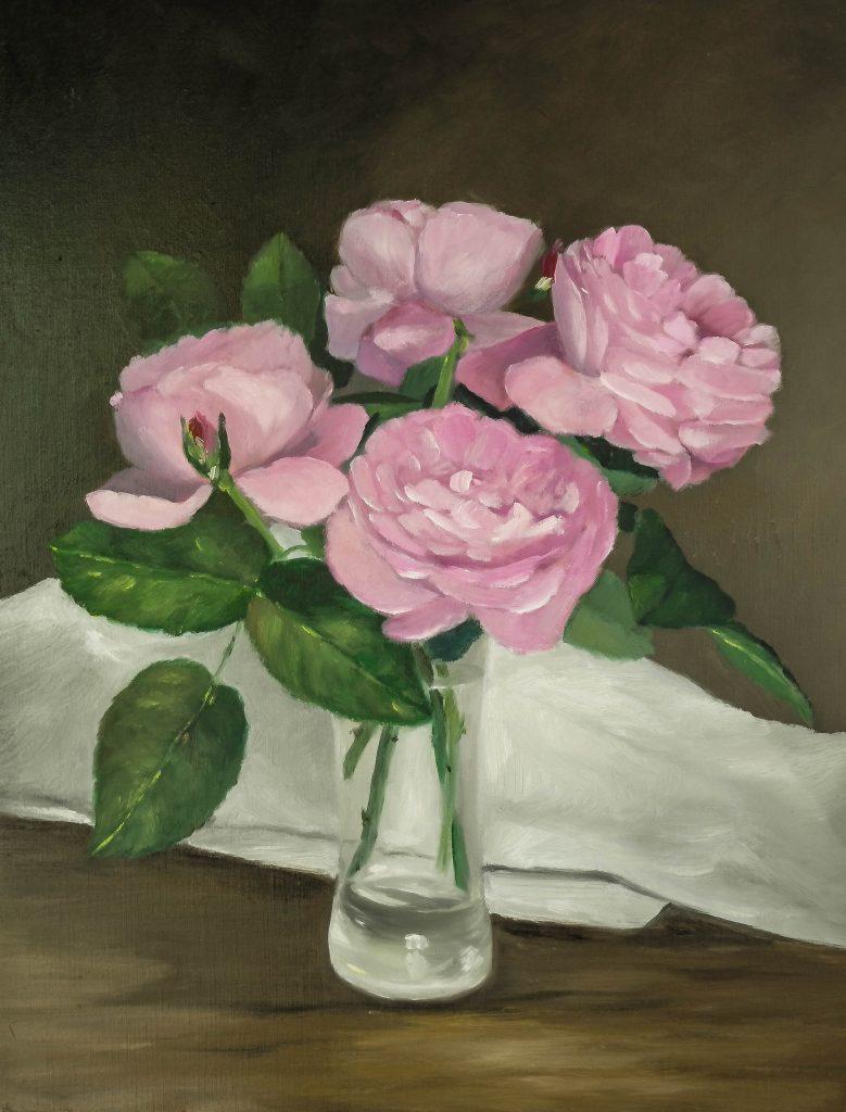 Roses-dans-un-verre