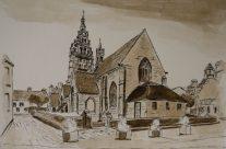 Eglises de Notre Dame de Croaz Batz