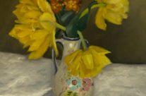Tulipes et giroflées